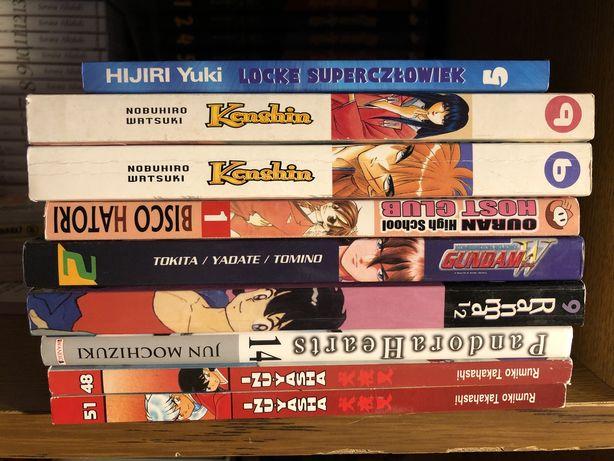 Mangi, manga, pandora hearts, kenshin, ranma