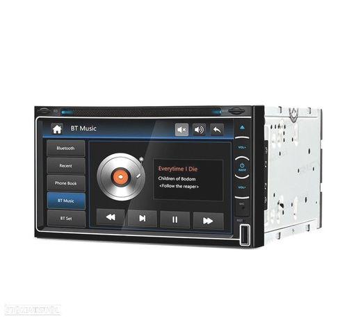 "AUTO RADIO GPS 2DIN 7"" HD TÁCTIL BLUETOOTH USB SD"