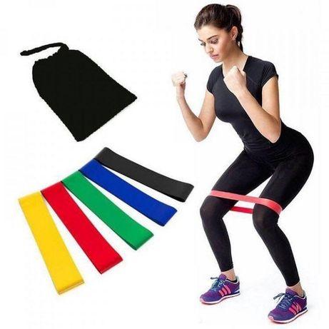 Резинки для спорта фитнеса набор фитнес резинок