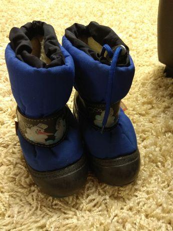 Ботинки демар/ demar 24 р,стелька 14,5 см