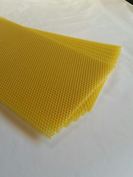 Przerób wosku na węzę pszczela producent lubelskie wielkopolska