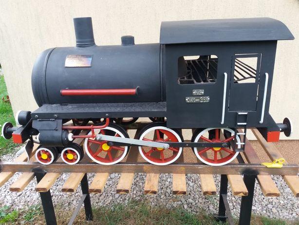 Lokomotywa grill .