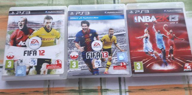 Gry PS3 - 3 szt.