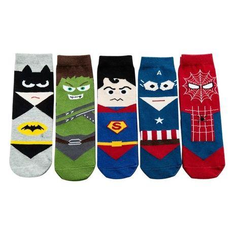Носки дитячі у вигляді супергероїв