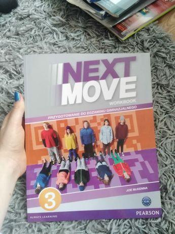 Ćwiczeniówka do języka angielskiego Next Move 3 NoWa