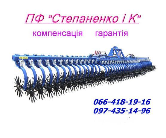 Ротаційна борона РШ, дискова СТЕП АГ,культиватор СТЕП КН,коток КПП,КМ