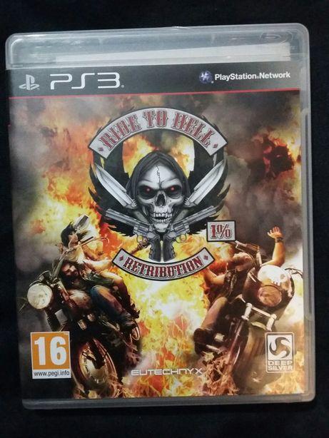 Jogo PS3 Ride to Hell - Retribution novo (apenas foi experimentado)