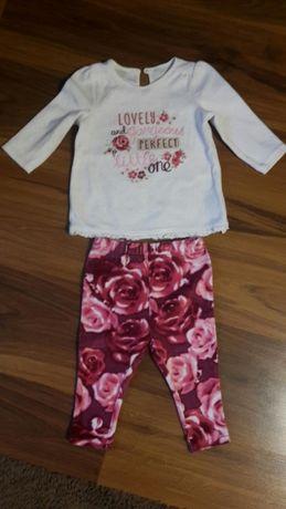 Bluzeczka i spodnie 6-9 miesięcy