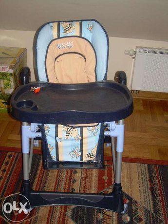fotelik/krzesełko do karmienia dla dziecka