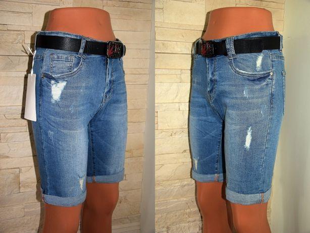 Spodenki Jeansowe VERSION WYSOKI STAN R 44
