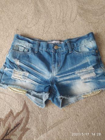 Шорти джинсові підліткові