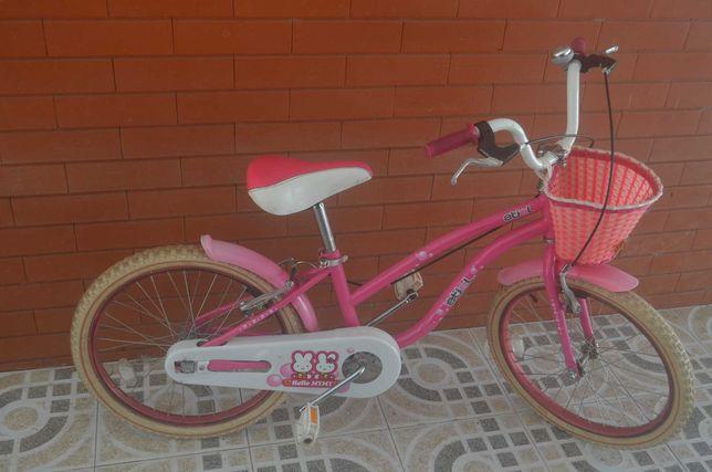 bicicleta etiel menina roda 20 / 8-12 anos