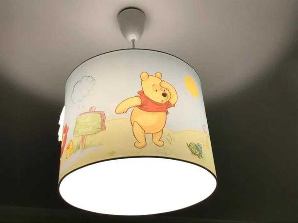 Lampa sufitowa dziecięca Kubuś Puchatek