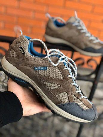 Трекинговая обувь,кроссовки Merrell gore-tex как salomon,lowa,meindl