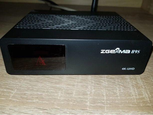 ZGEMMA H9S dekoder 4K Enigma2 E2 Ccam Oscam YouTub