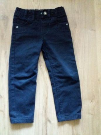 Spodnie jeans r. 98, na czas 2,3, 4 lata