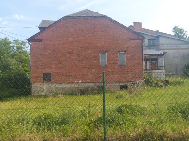 Dom działka stodoła garaż