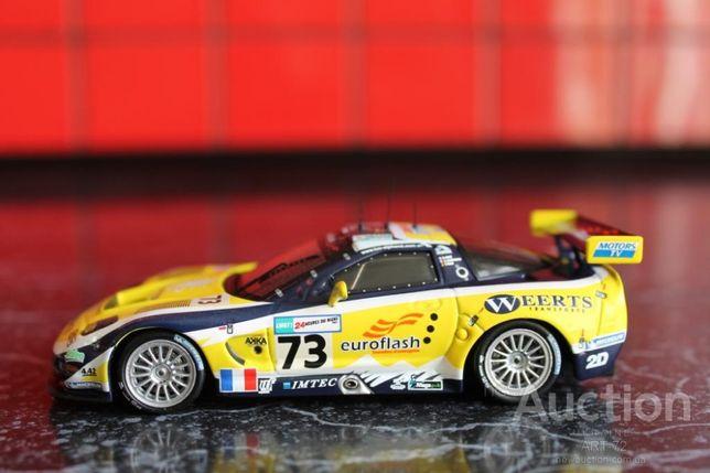 CORVETTE C5-R. Le Mans 2007. IXO. 1:43.