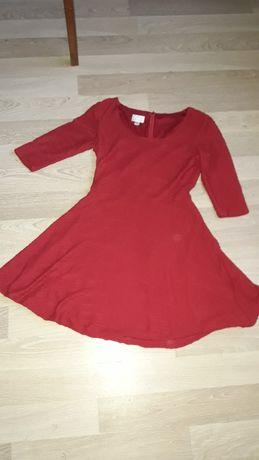 Czerwona sukienka donna Morgan rozmiar 8