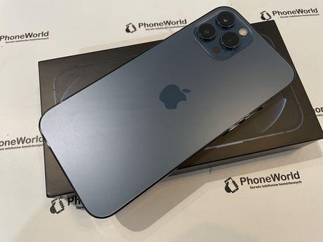 Zadbany Iphone 12 pro max 128gb błękitny gwarancja PhoneWorld