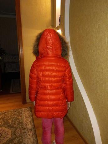 Плащик зимовий для дівчинки
