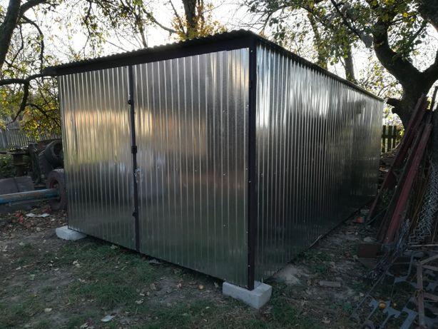 Garaże blaszane 3x5 garaże z blachy ocynk I gat blaszaki montaż gratis