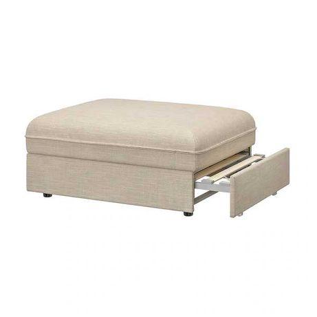 Sofá- cama VALLENTUNA em cinza claro