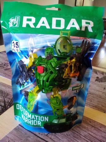 Robot klocki Deformation Warrior