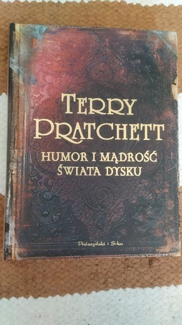 Książka Humor i mądrość Świata Dysku Terry Pratchett