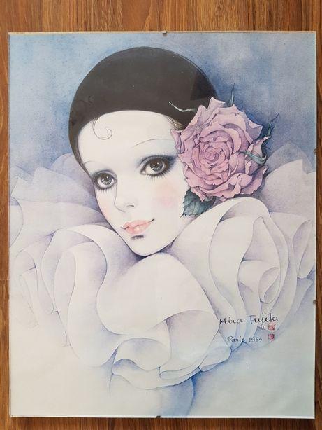 Obraz Pierrot Mira Fujita