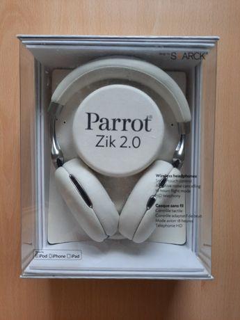 Słuchawki Parrot Zik 2.0 Bluetooth iPhone iPad używane białe