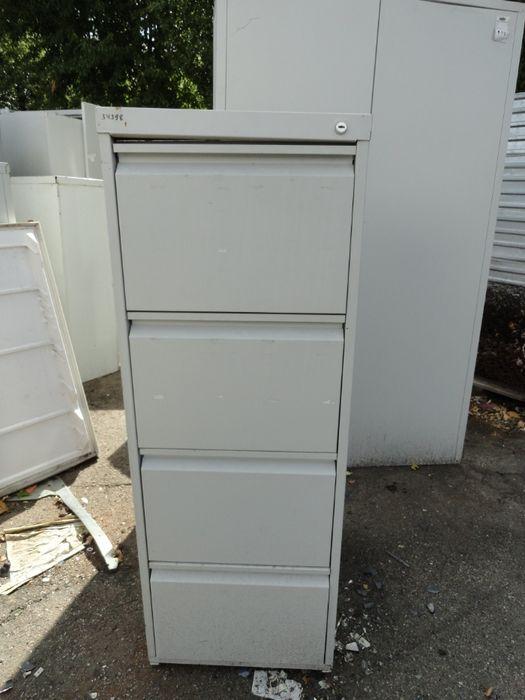 Шкаф офисный металлический с выдвижными секциями Кропивницкий - изображение 1