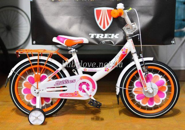 Новые фирм. шины с антипроколом. Велосипед двухколёсный ARDIS Lillies