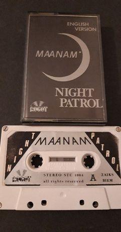 Maanam – Night Patrol UNIKAT 1984 kaseta magnetofonowa ROGOT