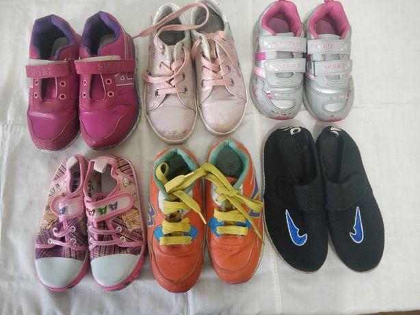 Кроссовки и макасины для девочки
