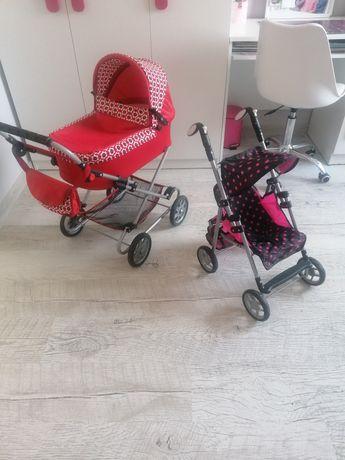 Wózki dla lalek, głęboki i spacerówka