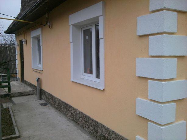 утепления фасадов домов, квартир