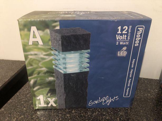 2x PHOBOS - lampa stojąca - 12 V