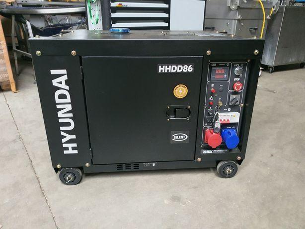 Agregat prądotwórczy Hyundai HHDD86