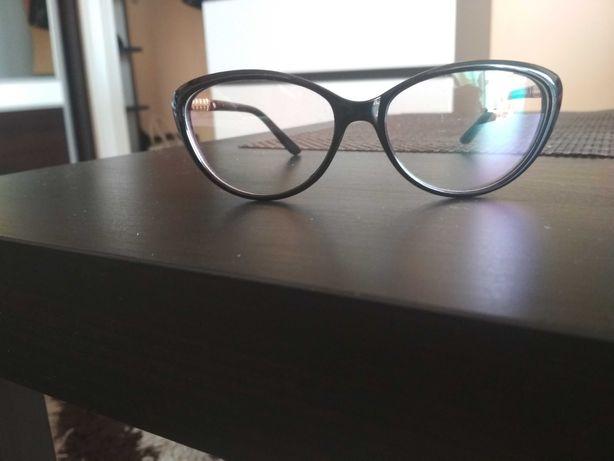 Okulary zerówki z powłoką ochronną do pracy przy komputerze, nowe