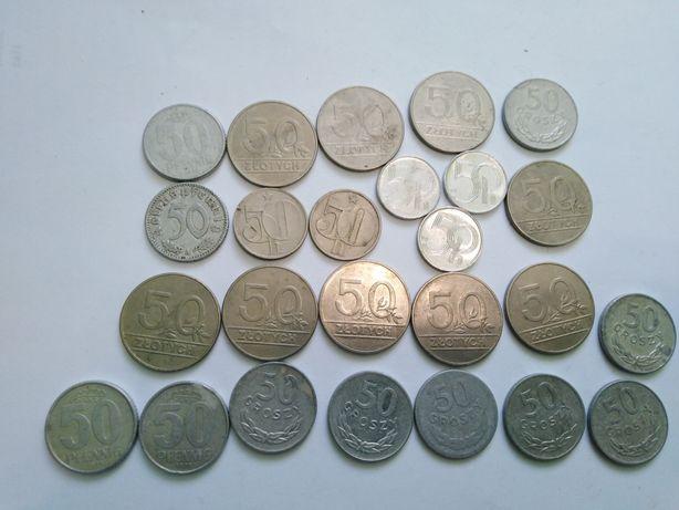 Monety kolekcjonerskie PRL - DUŻE ILOŚCI - niemieckie, korony czeskie