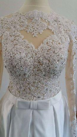 Suknia ślubna 36,38