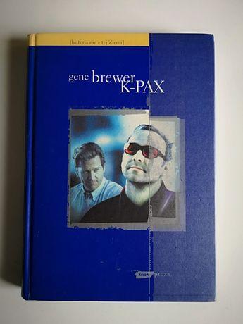 "Książka Gene Brewer ""K-PAX"""