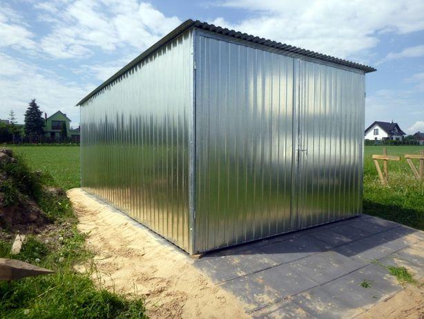 Garaż blaszany blaszak schowek na budowę garaże WZMOCNIONE producent