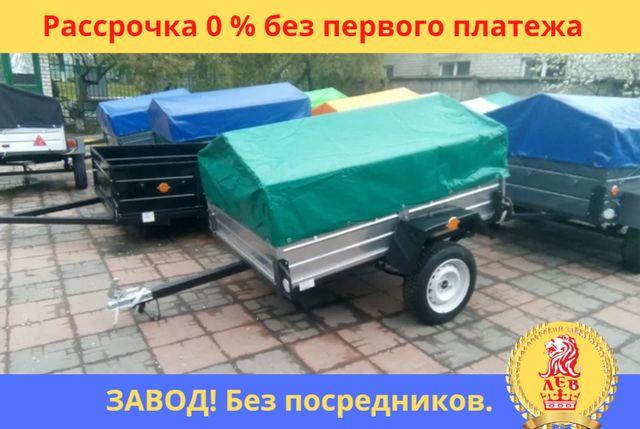 ПРИЦЕП ЛЕГКОВОЙ одноосный с завода. Документы. Гарантия 10 лет