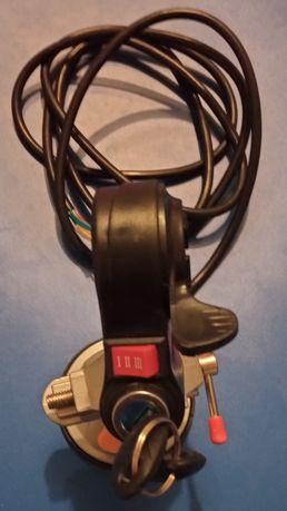 Курок газа ключ зажигание электроскутер ручка переключатель