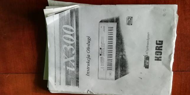 KORG IX300 Polska instrukcja obsługi