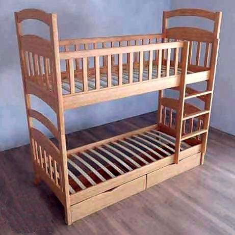 """Детская кровать """"Карина СП"""" трансформер с ольхи.На комплект акция"""