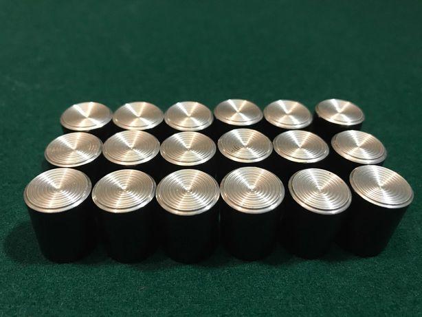 Ручки алюминиевые для потенциометров под шток 4 или 6мм.
