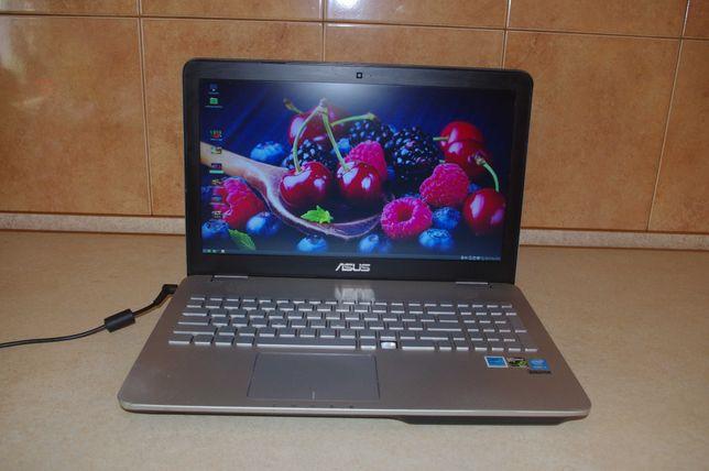 Laptop ASUS N551JM   I7-4710HQ/16 GB RAM/256GB SSD/ Lekko uszkodzony !